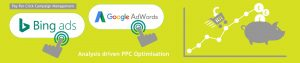 Pay per Click camapign management company offering analysis driven ppc campaign optimisation
