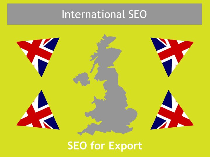 International SEO agency