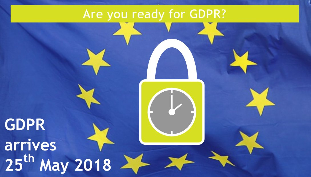 Is your website ready for GDPR?